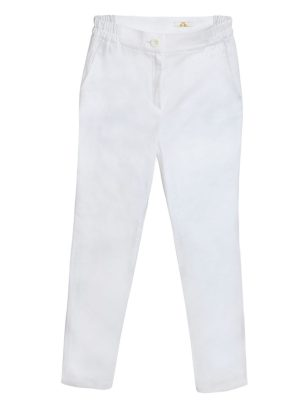 Zenske pantalone 370Q Bele