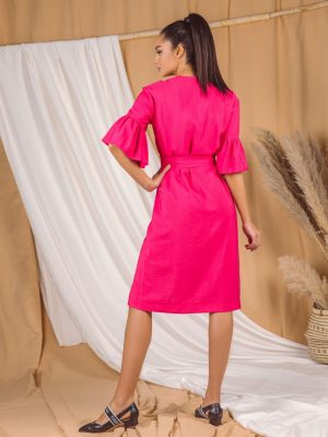 Haljina 210 Q pink pozadi