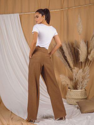 Pantalone 260 Q Braon pozadi