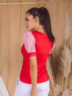 Majica 345 R Crvena pozadi